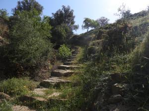 elend lange Treppe